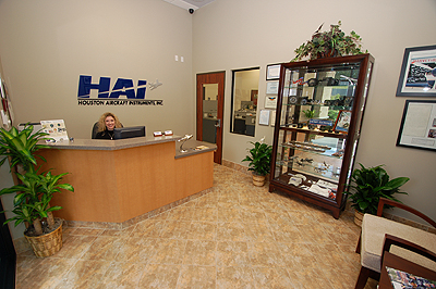 Houston Aircraft Instruments - Reception Room