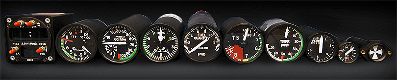 Houston Aircraft Instruments   Supported Instruments